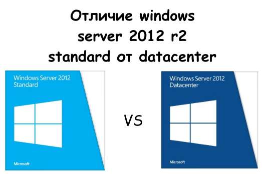 Windows Server 2012 R2 standard и datacenter
