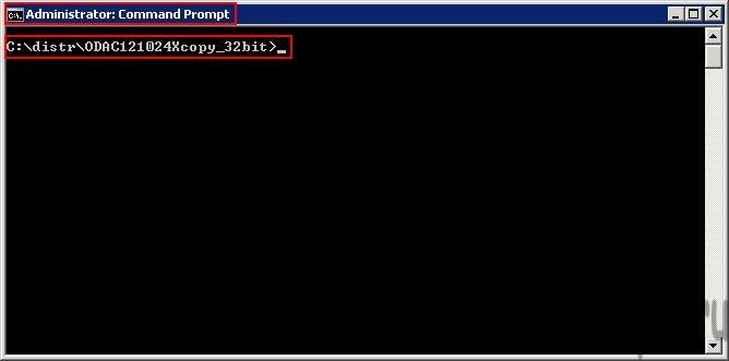 Установка oracle client в командной строке